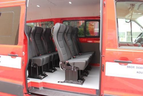 Dodávkový automobil pro dobrovolné hasiče